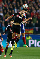 Bayer 04 Leverkusen´s Papadopoulos during the UEFA Champions League round of 16 second leg match between Atletico de Madrid and Bayer 04 Leverkusen at Vicente Calderon stadium in Madrid, Spain. March 17, 2015. (ALTERPHOTOS/Victor Blanco)
