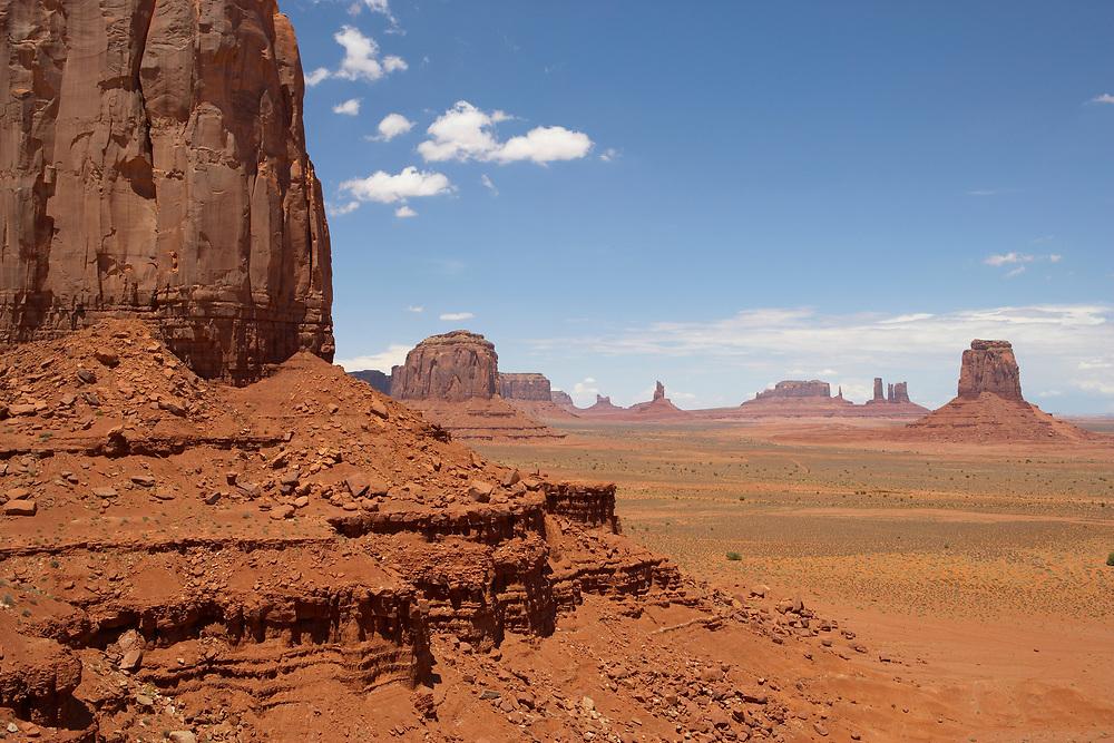 Monument Valley, Navajo Tribal Park, Utah-Arizona border