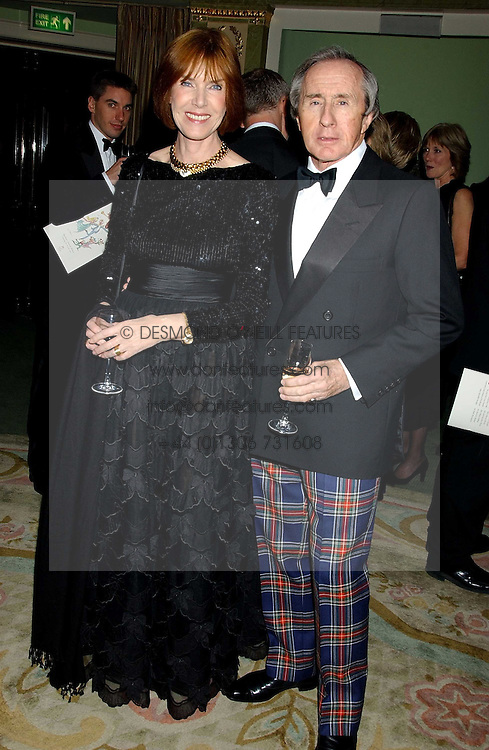 SIR JACKIE & LADY STEWART at the Dyslexia Awards Dinner attended by HRH The Countess of Wessex held at The Dorchester Hotel, Park Lane, London on 9th November 2005.<br /><br />NON EXCLUSIVE - WORLD RIGHTS