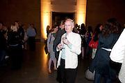 ANTHONY FAWCETT, Opening of Rude Britannia. Tate Britain. Millbank. London. 7 June 2010. -DO NOT ARCHIVE-© Copyright Photograph by Dafydd Jones. 248 Clapham Rd. London SW9 0PZ. Tel 0207 820 0771. www.dafjones.com.