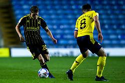 Cameron Hargreaves of Bristol Rovers takes on Cameron Brannagan of Oxford United - Mandatory by-line: Robbie Stephenson/JMP - 06/10/2020 - FOOTBALL - Kassam Stadium - Oxford, England - Oxford United v Bristol Rovers - Leasing.com Trophy