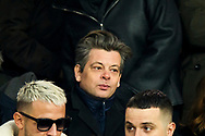 Benjamin Biolay french singer during the French Championship Ligue 1 football match between Paris Saint-Germain and Olympique de Marseille on february 25, 2018 at Parc des Princes stadium in Paris, France - Photo Pierre Charlier / ProSportsImages / DPPI