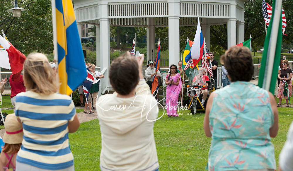 11th annual Multcultural Day in Laocnia, NH September 8, 2012