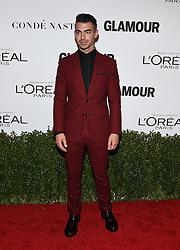 November 14, 2016 - Hollywood, California, U.S. - Joe Jonas arrives for the Glamour Women of the Year Awards 2016 at the Neuehouse Hollywood. (Credit Image: © Lisa O'Connor via ZUMA Wire)