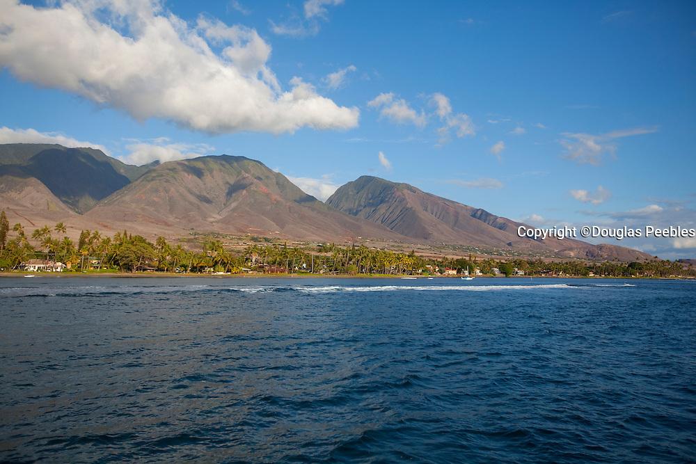 Lahaina, West Maui Mountains, Hawaii