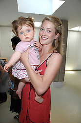ROSE VAN CUTSEM and her daughter GRACE at a party to celebrate the 21st birthday of the children's charity Starlight held at Maggie & Rose, 58 Pembroke Road, London W8 on 12th May 2008.<br /><br />NON EXCLUSIVE - WORLD RIGHTS