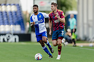 Ipswich Town defender Stephen Ward (3) runs past Bristol Rovers defender Mark Little (2) during the EFL Sky Bet League 1 match between Bristol Rovers and Ipswich Town at the Memorial Stadium, Bristol, England on 19 September 2020.