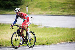 Aljaz Omrzel during Slovenian Road Cycling Championship in time trial 2020 on June 28, 2020 in Zg. Gorje - Pokljuka, Slovenia. Photo by Peter Podobnik / Sportida.
