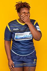 Narcisse Jordan of Worcester Warriors Women - Mandatory by-line: Robbie Stephenson/JMP - 27/10/2020 - RUGBY - Sixways Stadium - Worcester, England - Worcester Warriors Women Headshots