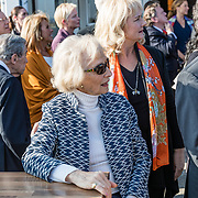 NLD/Katwijk/20170403 - 100ste geboortedag Erik Hazelhoff Roelfzema, partner Karin Hazelhoff Roelfzema