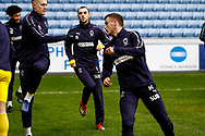 Wimbledon midfielder Dylan Connolly (16) during the EFL Sky Bet League 1 match between Coventry City and AFC Wimbledon at the Ricoh Arena, Coventry, England on 12 January 2019.