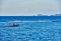 Palawan Philippines-April 5, 2015 :traditional fisherman fishing boat  in Palawan Philippines
