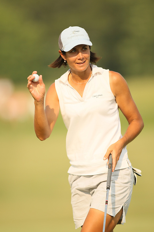 Laura Diaz during the fourth round of the 2008 McDonald's LPGA Championship at Bulle Rock Golf Club in Havre de Grace, Maryland on Sunday, June 8, 2008. .