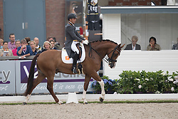 Elias Lara Agusti, ESP, Eddieni<br /> World Championship Young Dressage Horses <br /> Ermelo 2016<br /> © Hippo Foto - Dirk Caremans<br /> 29/07/16