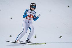 03.03.2021, Oberstdorf, GER, FIS Weltmeisterschaften Ski Nordisch, Oberstdorf 2021, Damen, Skisprung, HS137, Einzelbewerb, im Bild Goldmedaillen Gewinnerin und Weltmeisterin Maren Lundby (NOR) // Gold Medalist and Worldchampion Maren Lundby of Norway during the women ski Jumping HS137 single competition of FIS Nordic Ski World Championships 2021 Oberstdorf, Germany on 2021/03/03. EXPA Pictures © 2021, PhotoCredit: EXPA/ JFK