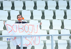 Fan of Poland during 21st Men's World Handball Championship preliminary Group C match between Poland and Tunisia, on January 21, 2009, in Arena Varazdin, Varazdin, Croatia. Win of Poland 31:27. (Photo by Vid Ponikvar / Sportida)