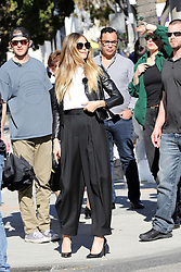 German Supermodel Heidi Klum directs a photoshoot on Rodeo Dr in Beverly Hills. 19 Feb 2019 Pictured: Heidi Klum. Photo credit: Rachpoot/MEGA TheMegaAgency.com +1 888 505 6342