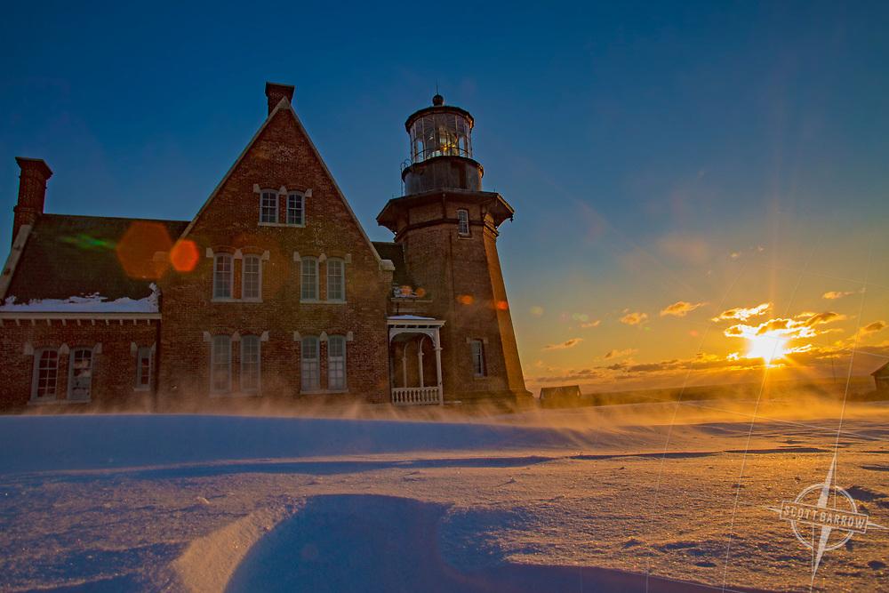 Winter on Block Island