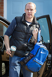 © Licensed to London News Pictures. 30/03/2019. London, UK. Former Brexit secretary Dominic Raab arrives home the day after Prime Minister Theresa May was defeated for a third time on the Withdrawal Agreement in Parliament. Photo credit: Peter Macdiarmid/LNP