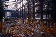 The redevelopment phase of the Turbine Hall at the former power station now known as Tate Modern art gallery, on 6th March 1998, on Londons Southbank, England.