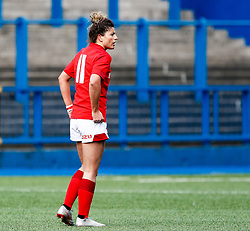 Jess Kavanagh of Wales<br /> <br /> Photographer Simon King/Replay Images<br /> <br /> Six Nations Round 5 - Wales Women v Ireland Women- Sunday 17th March 2019 - Cardiff Arms Park - Cardiff<br /> <br /> World Copyright © Replay Images . All rights reserved. info@replayimages.co.uk - http://replayimages.co.uk