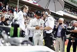May 13, 2018 - Barcelona, Spain - Motorsports: FIA Formula One World Championship 2018, Grand Prix of Spain, ..#44 Lewis Hamilton (GBR, Mercedes AMG Petronas Motorsport) (Credit Image: © Hoch Zwei via ZUMA Wire)