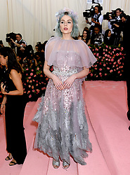 Lucy Boynton attending the Metropolitan Museum of Art Costume Institute Benefit Gala 2019 in New York, USA.