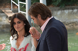 Penelope Cruz and javier Bardem arrive at the Casino during the 74. 06 Sep 2017 Pictured: Penelope Cruz and javier Bardem. Photo credit: Daniele Cifalà / MEGA TheMegaAgency.com +1 888 505 6342