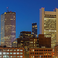 The Hub presenting Boston skyline photos featuring iconic skyscrapers and some of the tallest buildings in Boston such as the Boston State Street Corporation, The Federal Reserve Bank of Boston, the Boston Millennium Tower and the One Financial Center at Dewey Square on a magnificent night at twilight. This Boston skyline photograph at twilight is available as museum quality photography prints, canvas prints, acrylic prints or metal prints. Fine art prints may be framed and matted to the individual liking and decorating needs:<br />  <br /> http://juergen-roth.pixels.com/featured/the-hub-juergen-roth.html<br /> <br /> All Boston skyline photos are available for digital and print image licensing at www.RothGalleries.com. Please contact me direct with any questions or request.<br /> <br /> Good light and happy photo making!<br /> <br /> My best,<br /> <br /> Juergen<br /> Prints: http://www.rothgalleries.com<br /> Photo Blog: http://whereintheworldisjuergen.blogspot.com<br /> Twitter: @NatureFineArt<br /> Instagram: https://www.instagram.com/rothgalleries<br /> Facebook: https://www.facebook.com/naturefineart