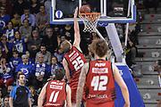 DESCRIZIONE : Eurocup 2015-2016 Last 32 Group N Dinamo Banco di Sardegna Sassari - Cai Zaragoza<br /> GIOCATORE : Henk Norel<br /> CATEGORIA : Schiacciata Controcampo<br /> SQUADRA : Cai Zaragoza<br /> EVENTO : Eurocup 2015-2016<br /> GARA : Dinamo Banco di Sardegna Sassari - Cai Zaragoza<br /> DATA : 27/01/2016<br /> SPORT : Pallacanestro <br /> AUTORE : Agenzia Ciamillo-Castoria/L.Canu