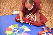 Monks Create San Mandala