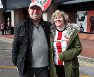 Sheffield United fans for fans gallery during the English Football League One match at Bramall Lane, Sheffield. Picture date: December 31st, 2016. Pic Jamie Tyerman/Sportimage