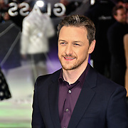 James McAvoy attends Premiere of M. Night Shyamalan's superhero thriller Glass, which follows Unbreakable and Split on 9 January 2019, London, UK.