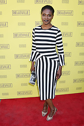 """Jessica Barth at the """"Belleville"""" Opening Night held at the Pasadena Playhouse on April 22, 2018 in Pasadena, Ca. © Janet Gough / AFF-USA.COM. 22 Apr 2018 Pictured: Adina Porter. Photo credit: Janet Gough / AFF-USA.COM / MEGA TheMegaAgency.com +1 888 505 6342"""