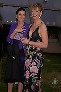 Lady Palumbo and Julia Peyton-Jones. The Serpentine Summer party co-hosted by Jimmy Choo. The Serpentine Gallery. 30 June 2005. ONE TIME USE ONLY - DO NOT ARCHIVE  © Copyright Photograph by Dafydd Jones 66 Stockwell Park Rd. London SW9 0DA Tel 020 7733 0108 www.dafjones.com