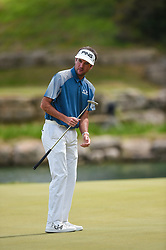 March 24, 2018 - Austin, TX, U.S. - AUSTIN, TX - MARCH 24: Bubba Watson watches a putt during the quarterfinals of the WGC-Dell Technologies Match Play on March 24, 2018 at Austin Country Club in Austin, TX. (Photo by Daniel Dunn/Icon Sportswire) (Credit Image: © Daniel Dunn/Icon SMI via ZUMA Press)