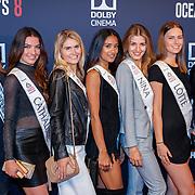 NLD/Hilversum/20180512 - Speciale voorvertoning Ocean's Eight, deelneemsters Miss Nederland 2018