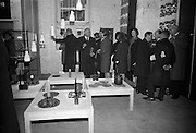 Opening of Kilkenny Design Workshop. Group of the Directors of the Design Workshop accompanying guests on a tour of the exhibition..15.11.1965