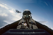 F-15B back seat.  Released.