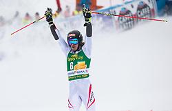 Manuel Feller of Austria during 2nd run of Men's Giant Slalom race of FIS Alpine Ski World Cup 57th Vitranc Cup 2018, on 3.3.2018 in Podkoren, Kranjska gora, Slovenia. Photo by Urban Meglič / Sportida