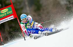 RICHARD Cyprien of France competes during the 1st Run of 7th Men's Giant Slalom - Pokal Vitranc 2013 of FIS Alpine Ski World Cup 2012/2013, on March 9, 2013 in Vitranc, Kranjska Gora, Slovenia. (Photo By Vid Ponikvar / Sportida.com)