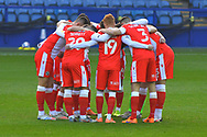 Millwall Huddle during the EFL Sky Bet Championship match between Sheffield Wednesday and Millwall at Hillsborough, Sheffield, England on 7 November 2020.