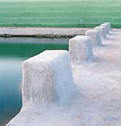 Starters Blocks,Newcastle Baths, Newcastle, East Coast Australia.