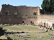 Italy, Rome, Palatino, Palatine hill, hippodrome