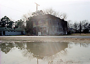 The old Bryant Store, the site where Emitt Till purportedly wolf-whistled at a white woman and was  later fond lynched, sat feb 29,2004. Till whisted at Carolyn Bryant,the wife of Roy Bryant who along with J.W. Milam kiddnapped and killed Till in 1955.(Photo/Suzi Altman)