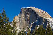 Afternoon light on Half Dome, Yosemite National Park, California