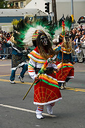 California: San Francisco Carnaval festival parade in the Mission District. Photo copyright Lee Foster. Photo # 30-casanf81343