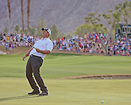 """22 JAN 15 Mike Putnam caps off a fine week at Sunday""""s Final Round at The Humana Challenge at PGA West, in LaQuinta, California.(photo credit : kenneth e. dennis/kendennisphoto.com)"""