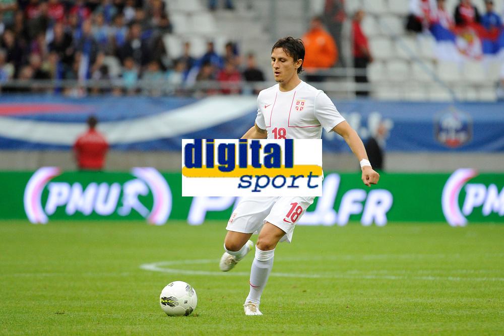 FOOTBALL - FRIENDLY GAME 2012 - FRANCE v SERBIA - REIMS (FRANCE) - 31/05/2012 - PHOTO JEAN MARIE HERVIO / REGAMEDIA / DPPI - LJUBOMIR FEJSA (SER)
