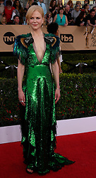 January 29, 2017 - Los Angeles, California, United States - Nicole Kidman on the red carpet at 23rd Annual Screen Actors Guild Awards  at The Shrine Expo Hall in Los Angeles on Sunday, January 29, 2017. (Credit Image: © John Mccoy/Los Angeles Daily News via ZUMA Wire)